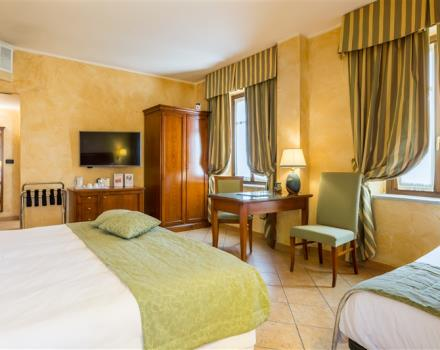 Book a room and stay at the Best Western Plus Hotel Le Rondini just 10 minutes from Caselle airport and 20 from Turin and the Juventus stadium. A combination of ancient, modernity and relaxation!