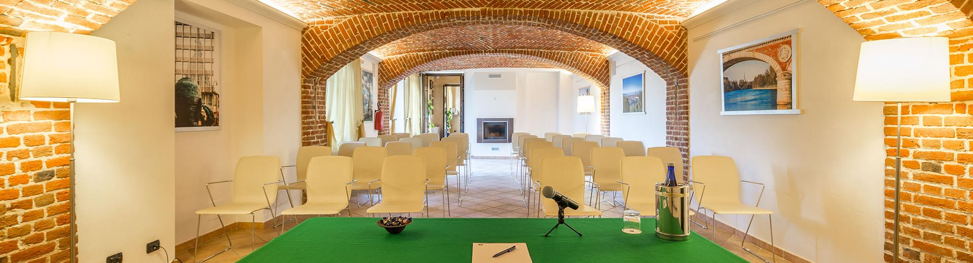 Meeting in 5 minutes from Turin airport. Ideal for conferences, team building, conferences, brunch, light lunch and snacks