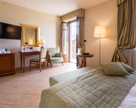 Discover the comfortable rooms at the Best Western Plus Hotel Le Rondini in San Francesco al Campo
